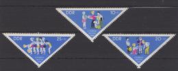 DDR / Pioniertreffen Chemnitz (Karl-Marx-Stadt) / MiNr. 1045-1047