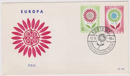 Enveloppe Cover Brief FDC 141 1298 1299 Europa Europees Filatel. Salon Kortrijk