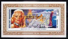 "MADAGASCAR - 1995 - Feuillet 1418 - Marilyn MONROE - ""Les Hommes Préférent Les Blondes"" - Madagascar (1960-...)"