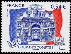 France Architecture Monuments N° 4028 ** Institution - Cour Des Comptes - Palais Cambon - Exemplaire Gommé