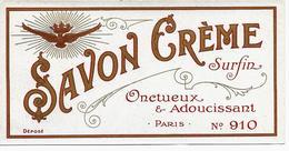 Etiquette SAVON CREME Surfin - PARIS - Labels