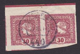 Austria, Scott #P23, Used, Mercury, Issued 1916 - Giornali