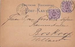 DR Karte Mef Minr.2x 40 Crefeld 11.3.89 Gel. Nach Holland - Briefe U. Dokumente