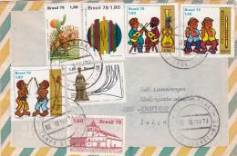 Brésil : Bel Affranchissement Sur Lettre Oblitérée Le 10 Fèvrier 1979 - Brésil