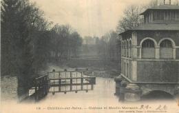21 CHATILLON-SUR-SEINE CHATEAU ET MOULIN MARMONT - Chatillon Sur Seine