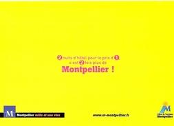 HB-C 010 Carte Postale Publicitaire Montpellier - France