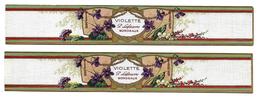 LOT 2 Etiquettes  -  SAVON - VIOLETTE - P. LEFEUVRE, BORDEAUX - Labels