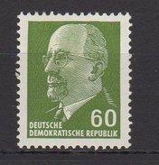 DDR / Freimarke: Staatsratsvorsitzender Walter Ulbricht, Kleinformat / MiNr. 1080