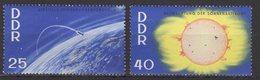 DDR / Internationale Jahre Der Ruhigen Sonne / MiNr. 1081, 1082