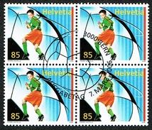 BLOC DE 4 TIMBRES OBLITERES 1er/J. 2006 C/DES TIMBRES SUISSES Nr:1195. Y&TELLIER Nr:1885. MICHEL Nr:1959.