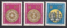 DDR / Leipziger Frühjahrsmesse / MiNr. 1090-1092
