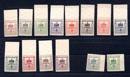 9067 Deutschland, Germany, Deutsche Lokalausgabe Finsterwalde, Mi 1-12 Mnh, Mi 3b + 9b * - Zone Soviétique