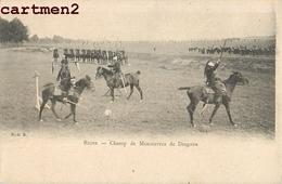 REIMS CHAMP DE MANOEUVRES DE DRAGONS 51 - Reims