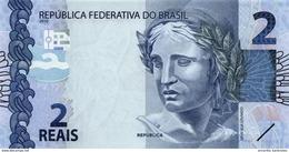 BRÉSIL 2 REAIS 2010 (2013) P-252 NEUF PRÉFIXE AA [BR874a] - Brazil