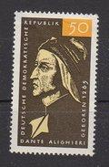 DDR / 700. Geburtstag Von Dante Alighieri / MiNr. 1097