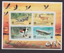 Tanzania, Scott #86a, Mint Never Hinged, Endangered Species, Issued 1977 - Tanzanie (1964-...)