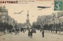 REIMS PLACE DROUET D'ERLON SEMAINE D'AVIATION AVION AVIATEUR 51 - Reims