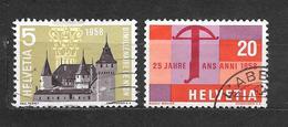 SVIZZERA  Suisse Helvetia N. 602-604/US  -1958 Lot Lotto