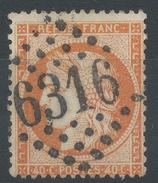 Lot N°36181   N°38, Oblit GC 6316 LYON-LES-TERREAUX (68) - 1870 Siege Of Paris