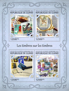 GUINEA 2017 - Songbirds On Stamps. Official Issue