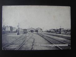 BRAINE-LE-COMTE - Vue De La Gare ( Intérieur ) - Très Animée - Braine-le-Comte