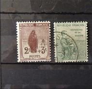 France N° 148* Et 149   Orphelins //  Cote : 17 Euros