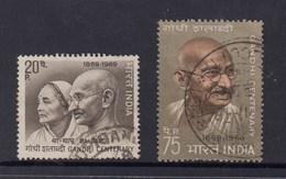 Mahatma Gandhi - India 1969 Birth Centenary - Set 2 FU