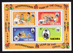 Tanzania, Scott #126a, Mint Never Hinged, Int'l Year Of The Child, Issued 1979 - Tanzania (1964-...)