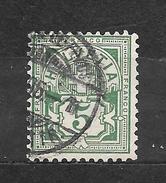 SVIZZERA  Suisse Helvetia     N. 66/US  -1882