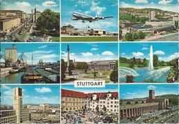Stamped/Used Postcard - Stuttgart - Kruger