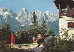 Stamped/Used Postcard - Mountain Scene