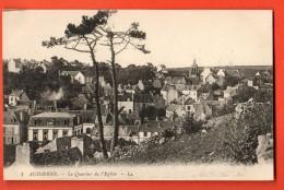 EAC-18  Audierne  Le Quartier De L'Eglise. Non Circulé - Audierne