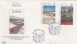 Turkey 1977 FDC Europa CEPT (G45-1AF) - Europa-CEPT