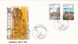 Luxembourg  1977 FDC Europa CEPT (G45-1AF) - Europa-CEPT
