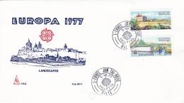 Malta  1977 FDC Europa CEPT (G45-1AF) - Europa-CEPT