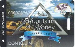 Mazatzal Casino - Payson, AZ USA - Mountains Of Money Players Club Slot Card - Casino Cards
