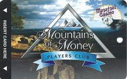 Mazatzal Casino - Payson, AZ USA - BLANK Mountains Of Money Players Club Slot Card - Casino Cards