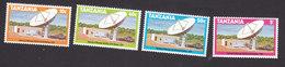 Tanzania, Scott #131-134, Mint Hinged, Mwenge Satellite, Issued 1979 - Tanzania (1964-...)