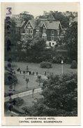 - BOURNEMOUTH - Lampeter House Hôtel, Central GARDENS - Non écrite, Petit Format, Glacée, Splendide, BE, Scans. - Bournemouth (depuis 1972)