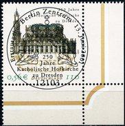 A12-08-4) BRD - Michel 2196 ECKE REU - Zentrisch OO Gestempelt (C) - 110Pf/56C   Hofkirche Dresden - [7] République Fédérale