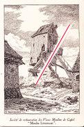 """Société De Restauration Des Vieux Moulins De Cassel """"Moulin Létendart"""" - Cartes Postales"""