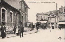 78 - HOUILLES - Place De La Gare (diligence) - Houilles