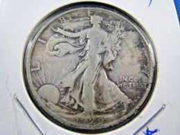 1929D  WALKING LIBERTY HALF DOLLAR                 (sk50-21) - 1916-1947: Liberty Walking