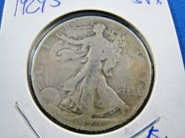 1929S  WALKING LIBERTY HALF DOLLAR                 (sk50-22) - Federal Issues