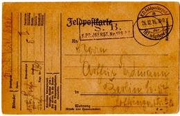 ALLEMAGNE. FELDPOST. 187. INFANTERIE DIV. 1916. - Occupazione 1914 – 18