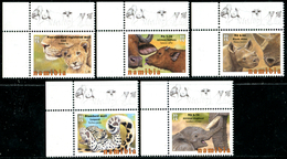 NAMIBIA 2015 Animals, Baby Big Five, Rhinos, Elephants, Buffalos, Fauna MNH
