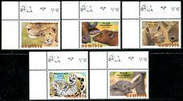 NAMIBIA 2015 Animals, Baby Big Five, Rhinos, Elephants, Buffalos, Fauna MNH - Altri