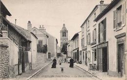 78 - HOUILLES - La Rue De L'Eglise - Houilles