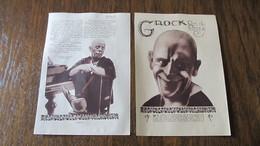 CIRQUE - CLOWN - GROCK ROI DU CIRQUE - COUPURE DE PRESSE DE FEVRIER 1924. - Vecchi Documenti