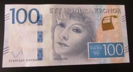 Sweden 100 Kr 2016 New Issue UNC Greta Garbo - Sweden